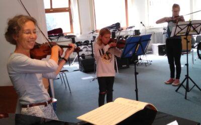 Geigenklang in Garding – Die Musikschule ist lebendig